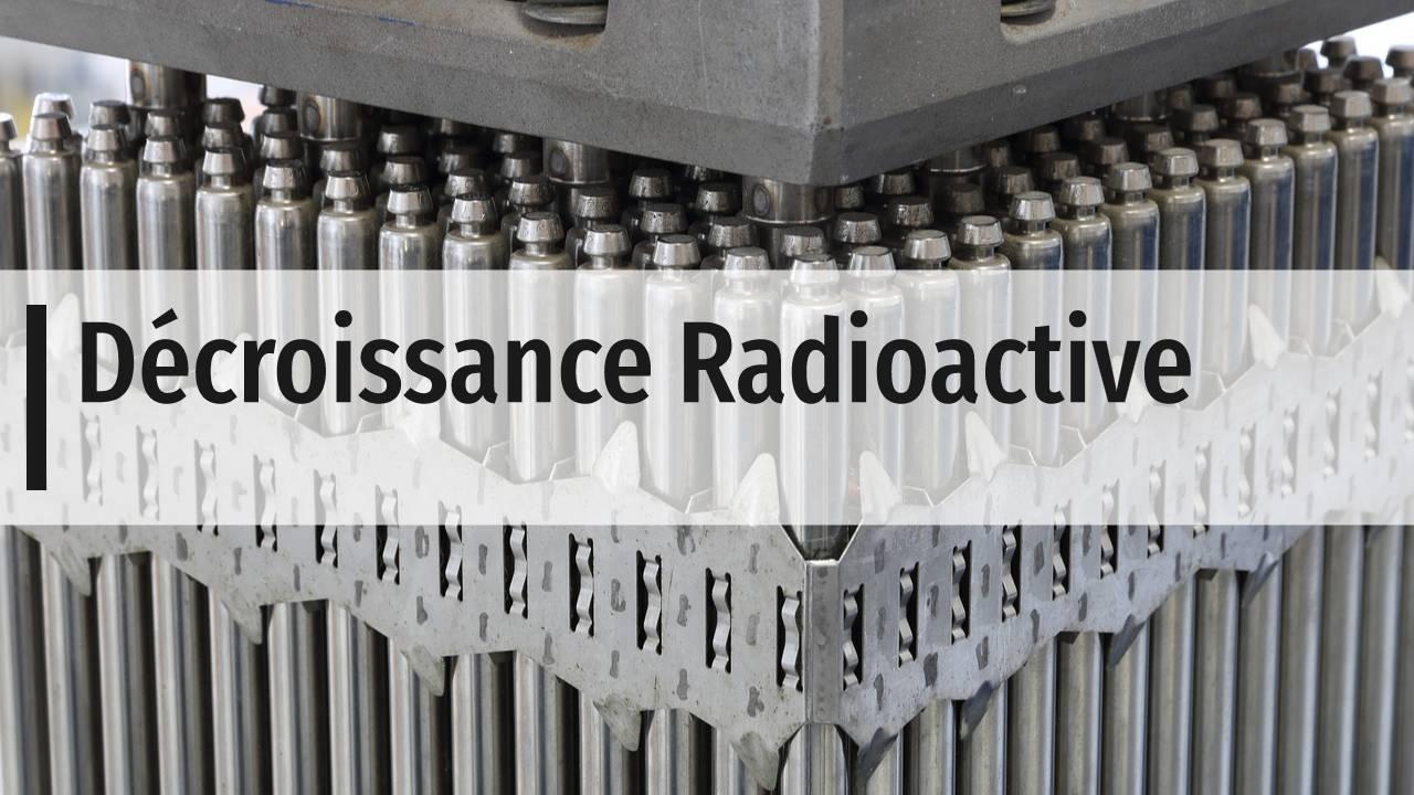 Décroissance radioactive terminale s