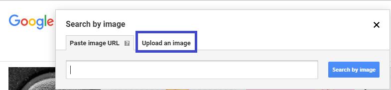 Télécharger une photo pour faire une recherche