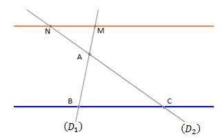 exercice théorème de Thalès corrigés