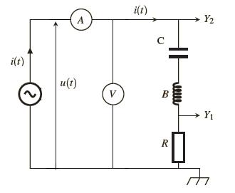 circuit RLC série avec un générateur de basse fréquence